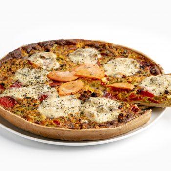 Tarte Paprika Mozzarella