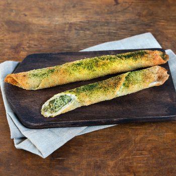 Knusperstange Spinat-Käse